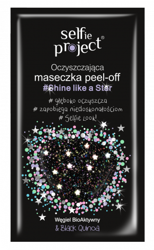 Selfie Project Galaxy Mask Gwiazdka